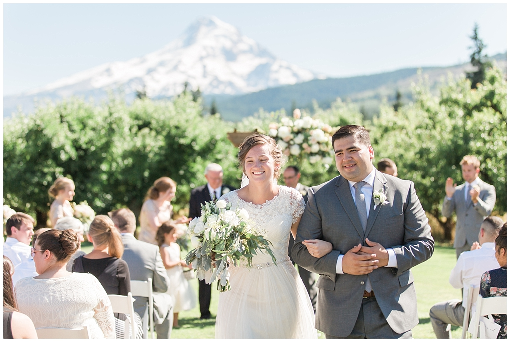 Marco and Michelle | Mt View Orchards | Mt Hood, Oregon Wedding